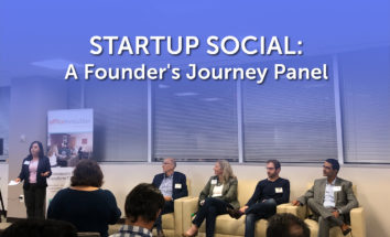 Startup Social: A Founder's Journey Panel Discussion