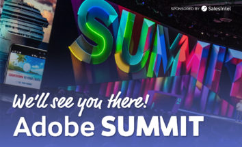 Join SalesIntel at Adobe Summit in March