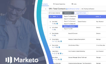 SalesIntel Now Integrating with Marketo